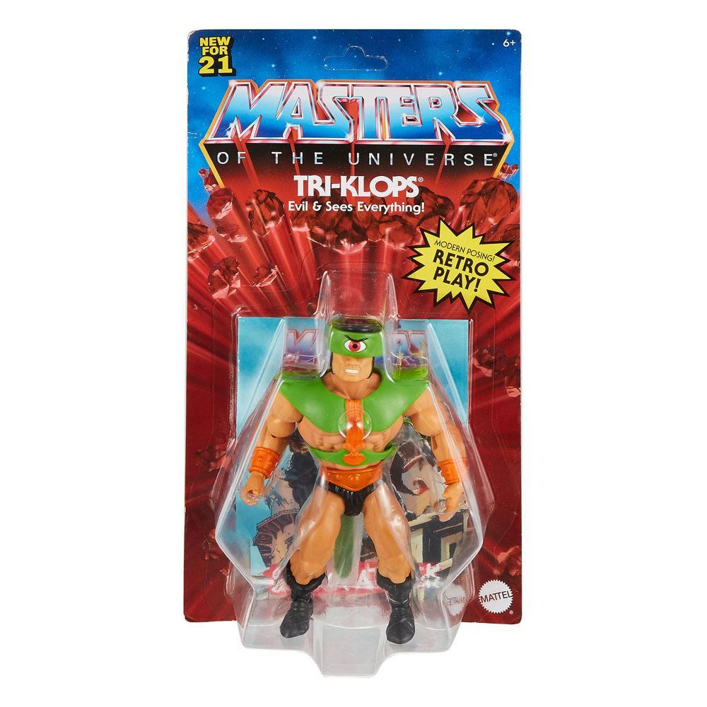 Photo du produit Figurine Triclops Masters of the Universe Origins 14cm