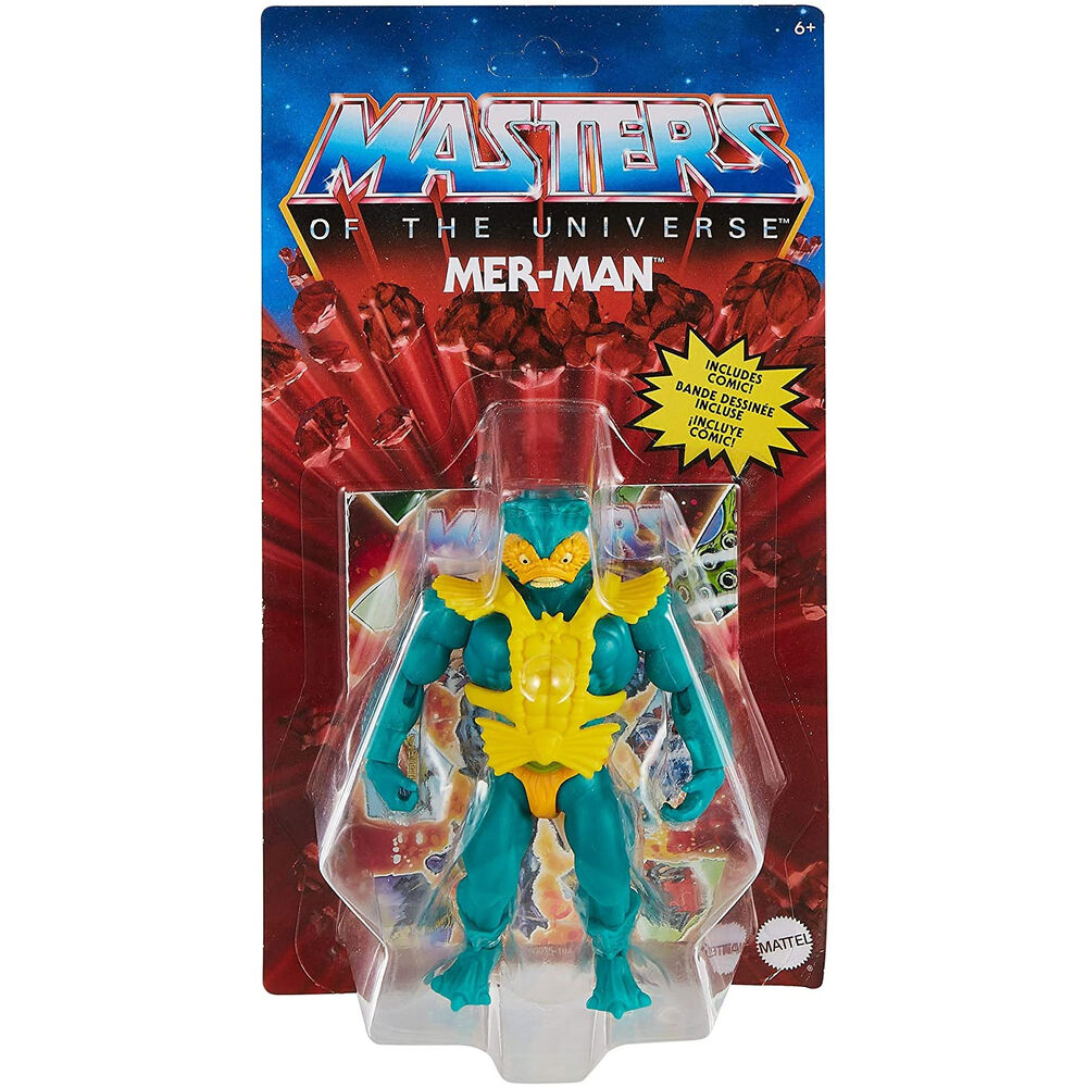 Photo du produit Masters of the Universe Origins 2021 figurine Mer-Man 14 cm