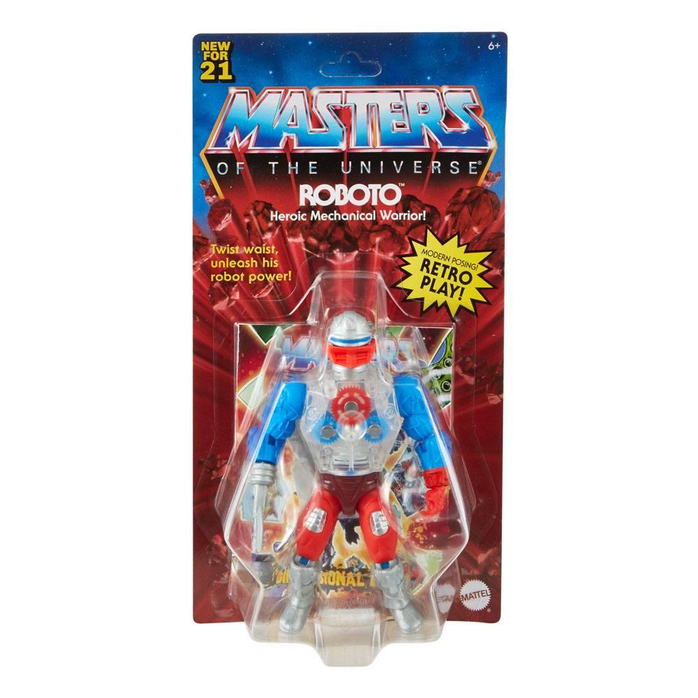 Photo du produit Masters of the Universe Origins 2021 figurine Roboto 14 cm