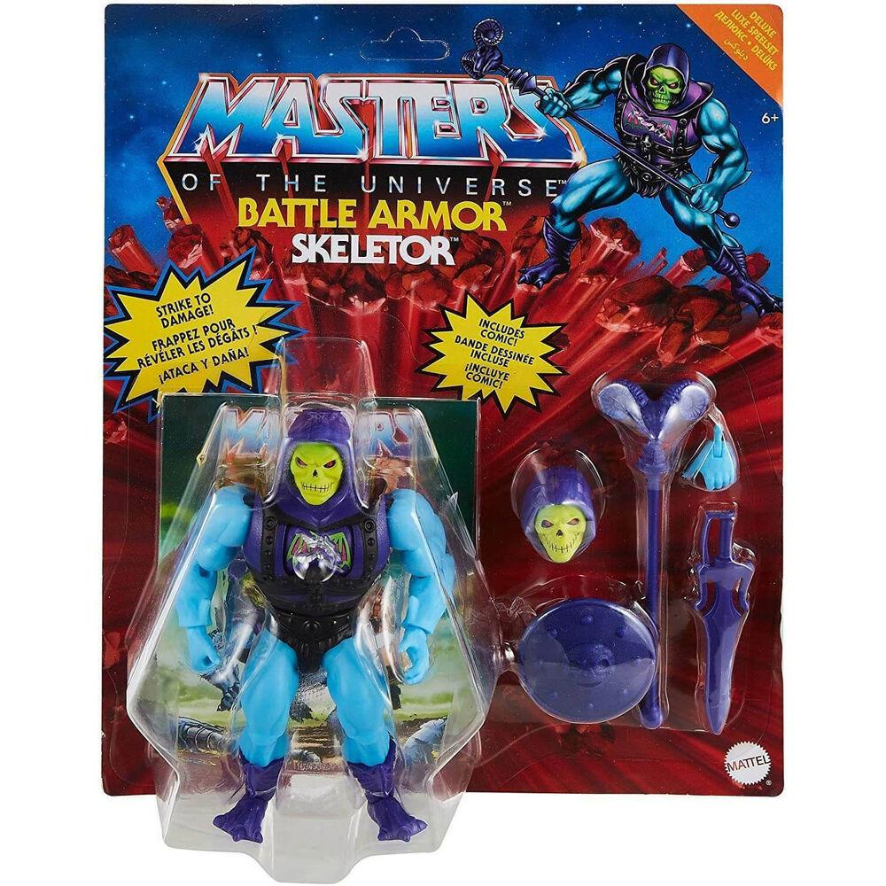 Photo du produit Figurine Skeletor Masters of the Universe Origins 14cm