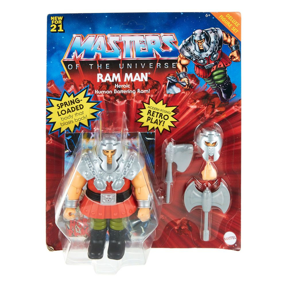Photo du produit Figurine Ram Man Masters of the Universe Origins 14cm