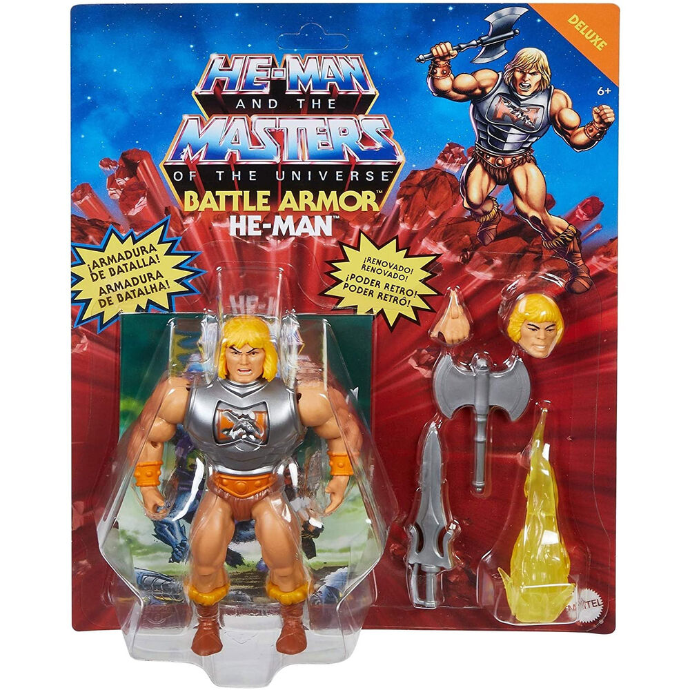 Photo du produit Figurine He-Man Masters of the Universe Origins 14cm