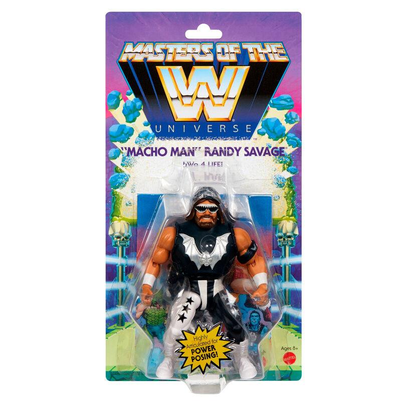 Photo du produit Figurine Macho Man Randy Savage Masters of the WWE Universe 14cm