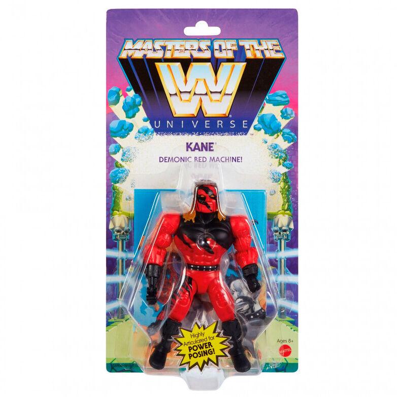 Photo du produit Figurine Kane Masters of the WWE Universe 14cm
