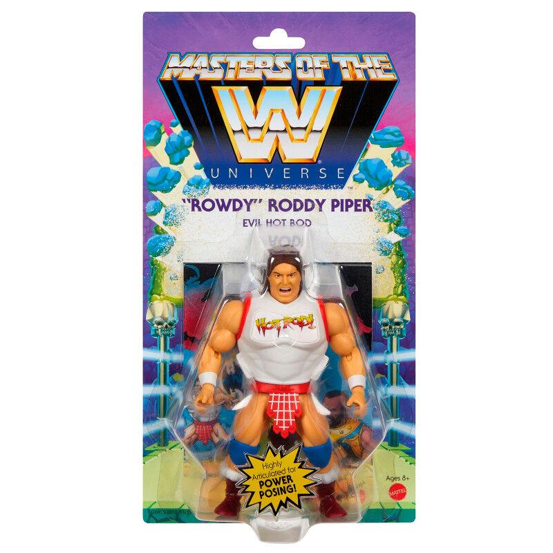 Photo du produit Figurine Rowdy Roddy Piper Masters of the WWE Universe 14cm