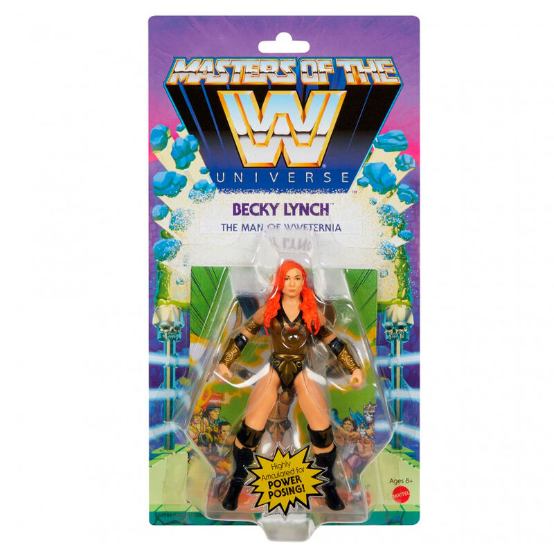 Photo du produit Figurine Becky Lynch Masters of the WWE Universe 14cm