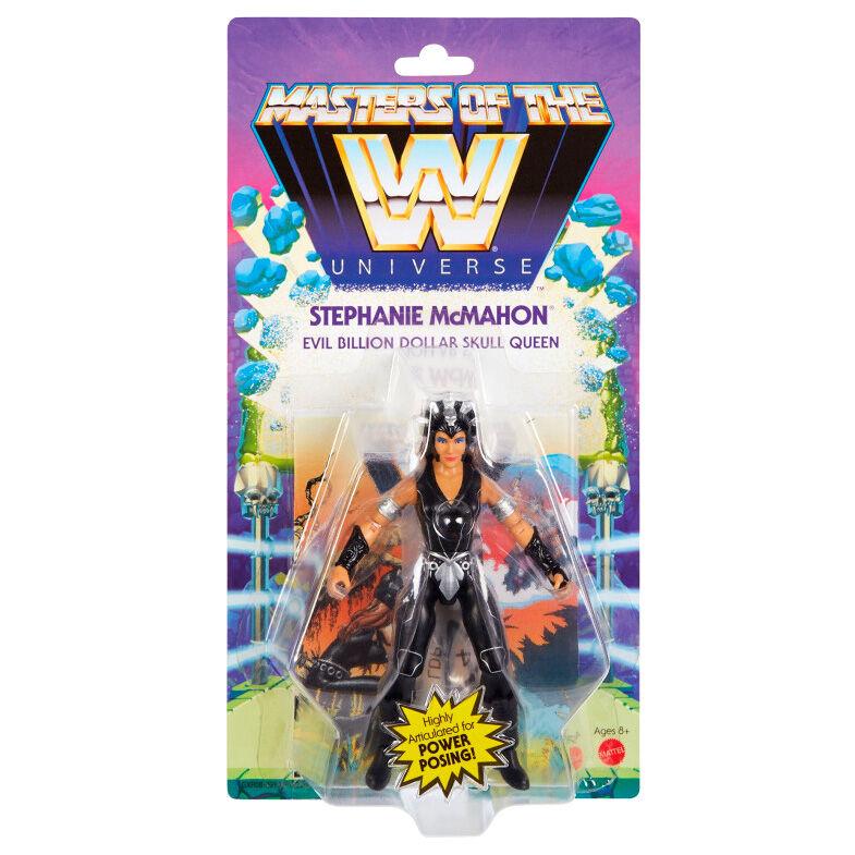 Photo du produit Figurine Stephanie McMahon Masters of the WWE Universe 14cm