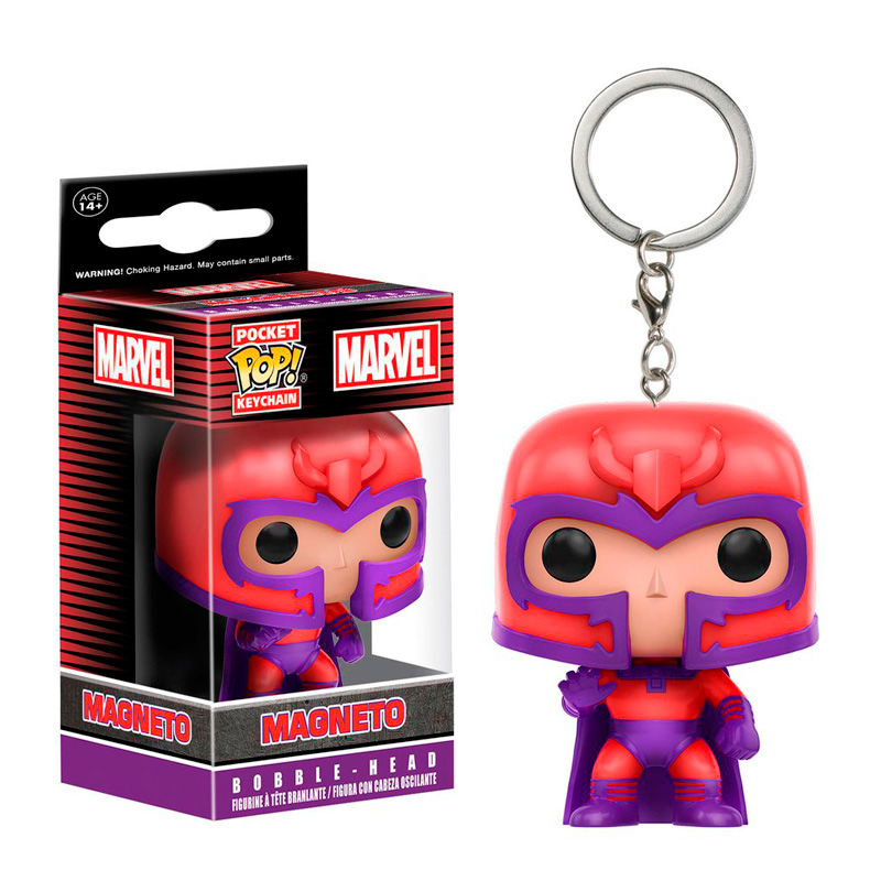 Photo du produit PORTE CLE POCKET POP MARVEL X-MEN MAGNETO