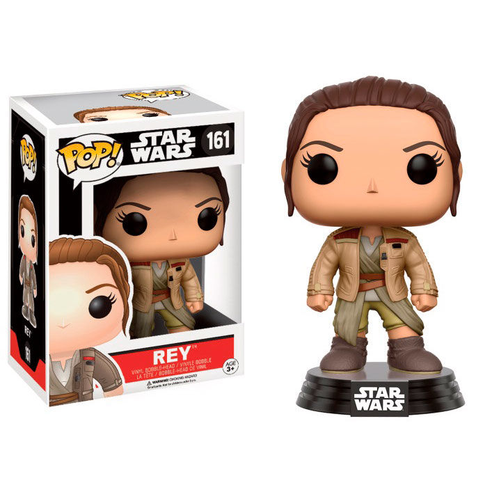 Photo du produit FUNKO POP STAR WARS REY WITH FINN'S JACKET EXCLUSIVE