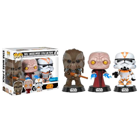 Photo du produit PACK FUNKO POP! TARFFUL, EMPEROR & UTAPAU
