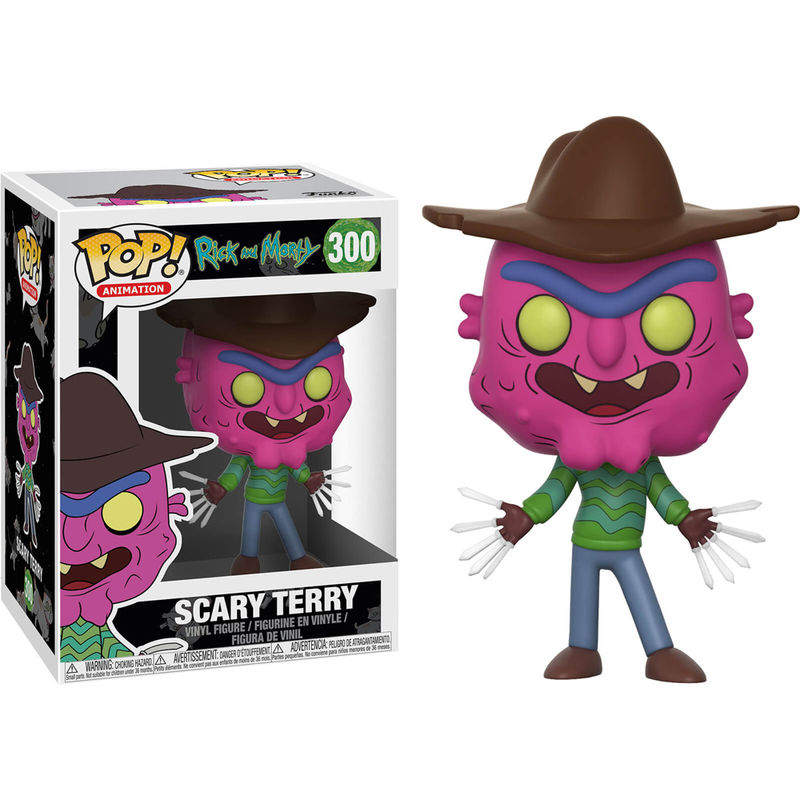 Photo du produit RICK ET MORTY FIGURINE FUNKO POP SCARY TERRY 9 CM