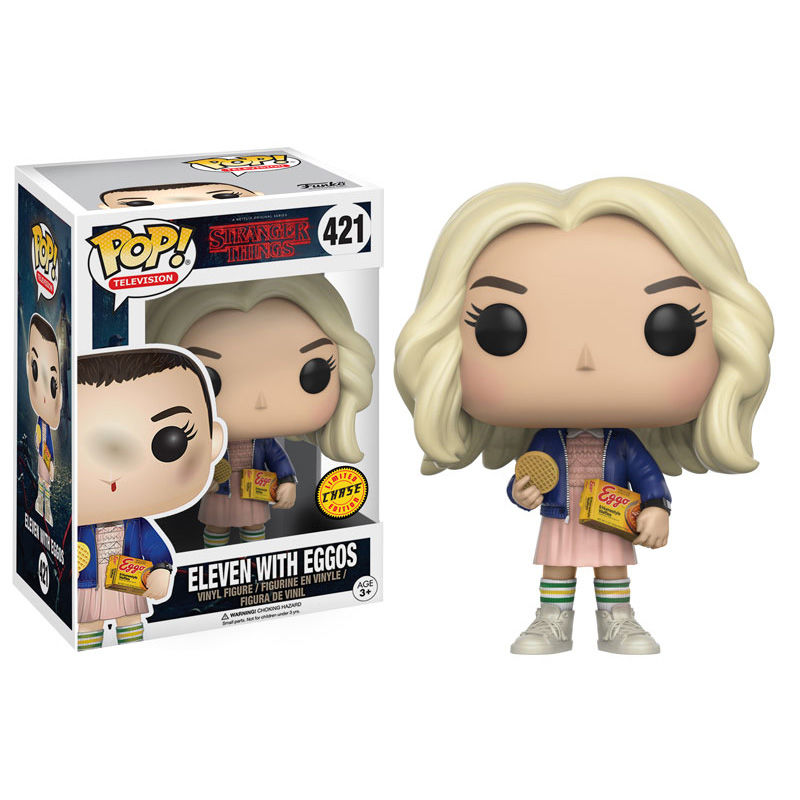 Photo du produit FUNKO POP STRANGER THINGS ELEVEN WITH EGGOS CHASE EXCLUSIVE