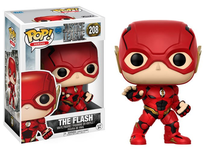 Photo du produit FUNKO POP JUSTICE LEAGUE THE FLASH