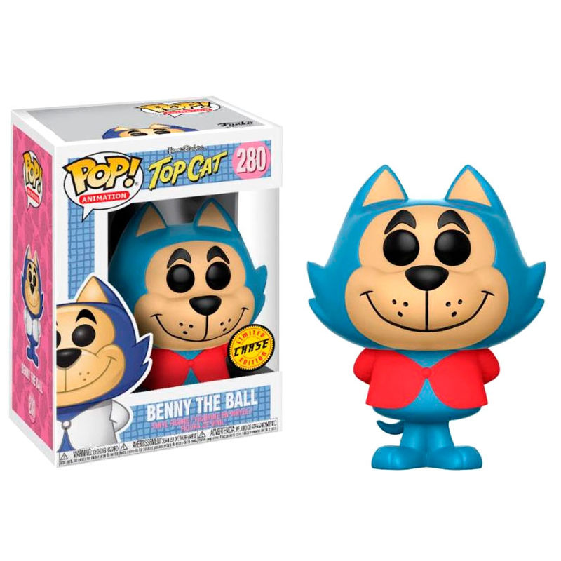 Photo du produit FUNKO POP TOP CAT BENNY THE BALL CHASE