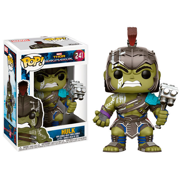 Photo du produit FUNKO POP MARVEL THOR RAGNAROK HULK GLADIATOR