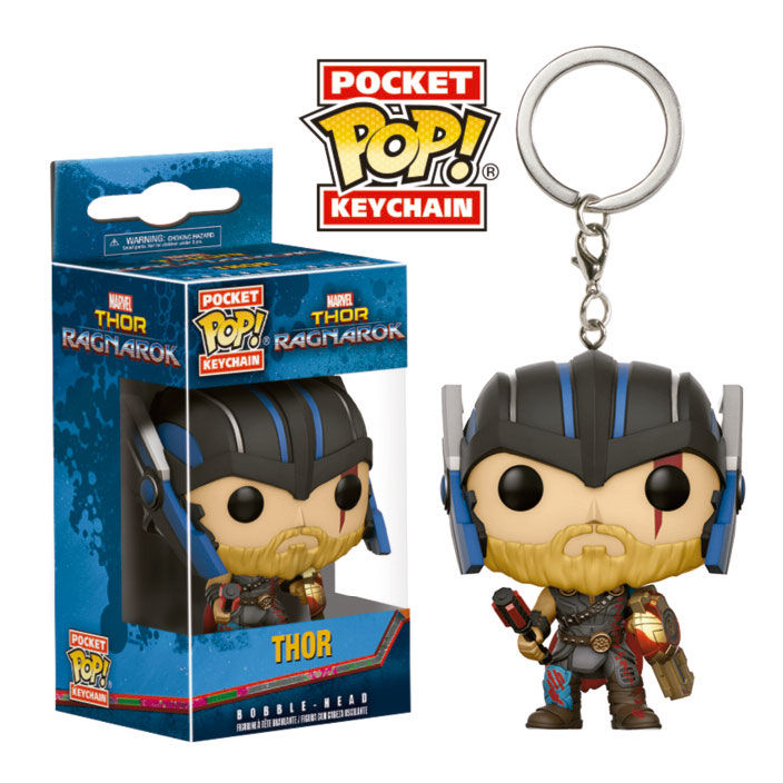 Photo du produit PORTE CLE POCKET POP MARVEL THOR RAGNAROK THOR