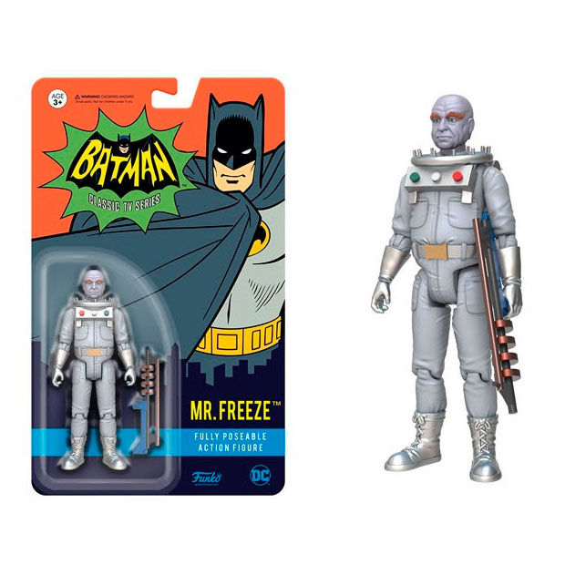 Photo du produit FIGURINE ACTION FIGURE BATMAN 1966 MR. FREEZE 10 CM