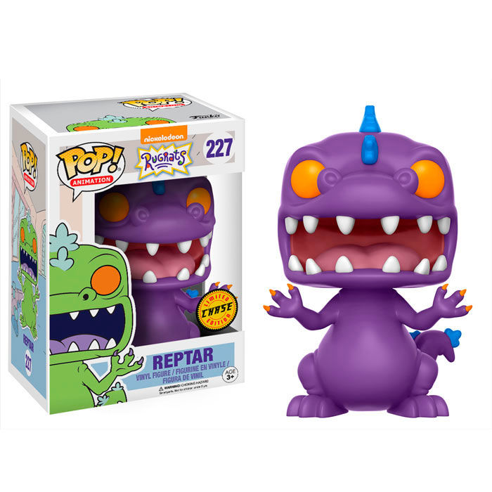 Photo du produit LES RAZMOCKET FIGURINE FUNKO POP! NICKELODEON 90'S REPTAR CHASE