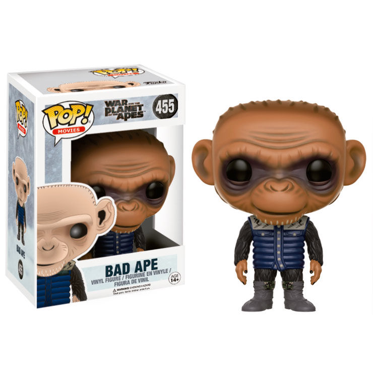 Photo du produit LA PLANÈTE DES SINGES SUPRÉMATIE POP! MOVIES VINYL FIGURINE BAD APE