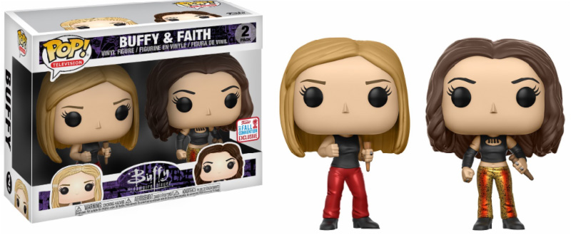 Photo du produit FUNKO POP  BUFFY 25TH ANNIVERSARY: BUFFY & FAITH NYCC 2017