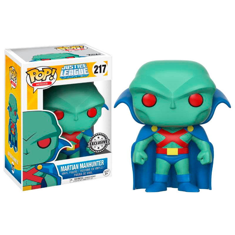Photo du produit FUNKO POP DC COMICS JUSTICE LEAGUE MARTIAN MANHUNTER EXCLUSIVE