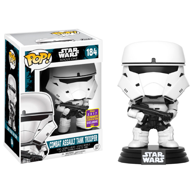 Photo du produit FUNKO POP STAR WARS COMBAT ASSAULT TANK TROOPER SDCC 2017 EXCLUSIVE