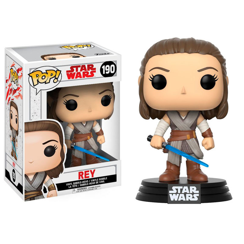 Photo du produit FIGURINE FUNKO POP STAR WARS EPISODE VIII REY 9 CM