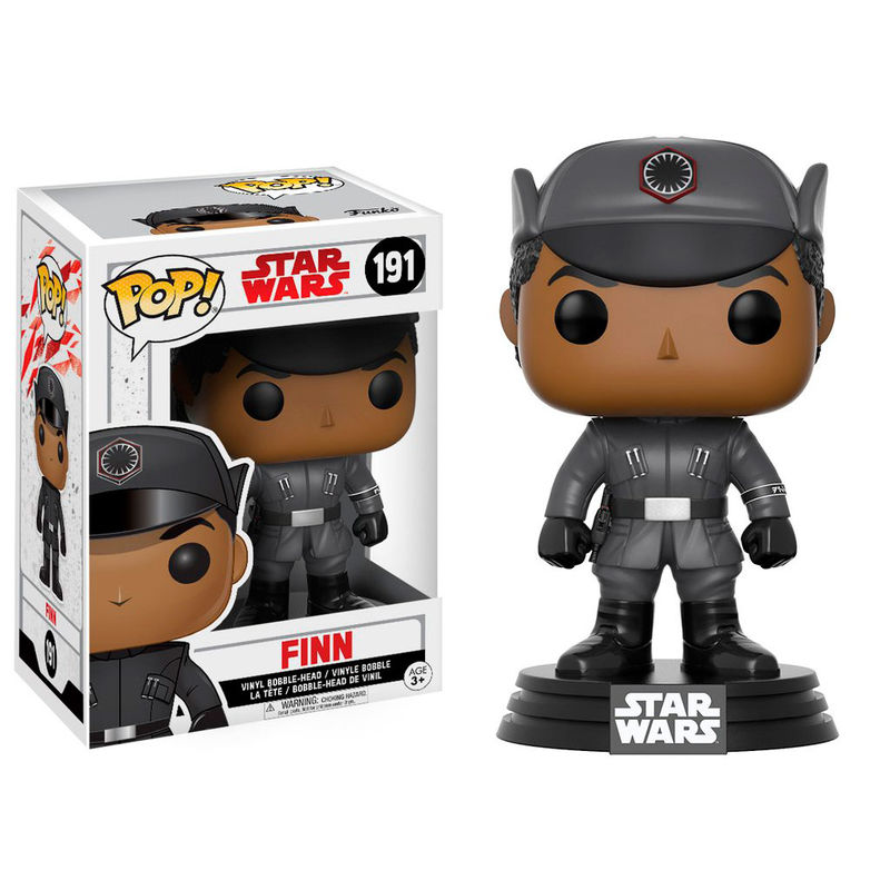 Photo du produit FIGURINE FUNKO POP STAR WARS EPISODE VIII FINN 9 CM