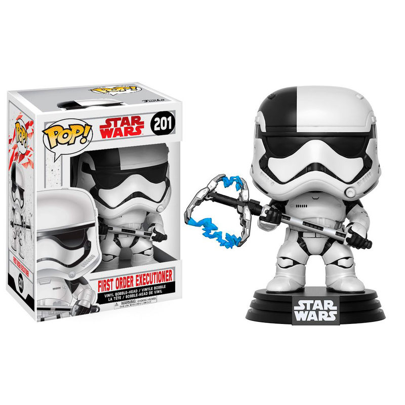 Photo du produit FUNKO POP STAR WARS EPISODE VIII FIRST ORDER EXECUTIONER