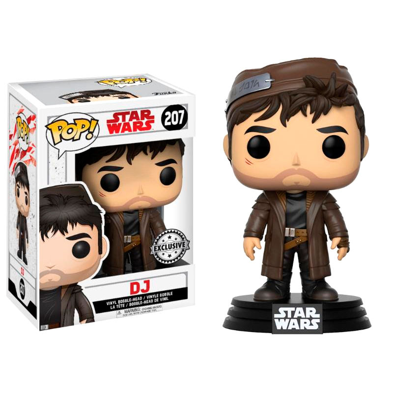 Photo du produit FUNKO POP STAR WARS THE LAST JEDI DJ EXCLUSIVE