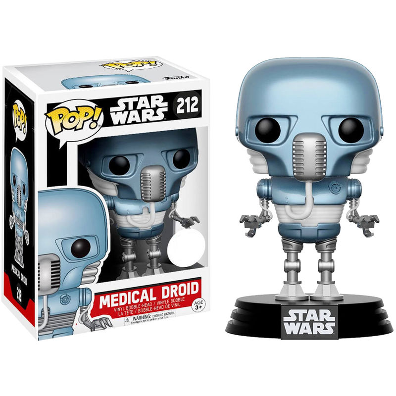 Photo du produit FIGURINE FUNKO POP STAR WARS MEDICAL DROID EXCLUSIVE