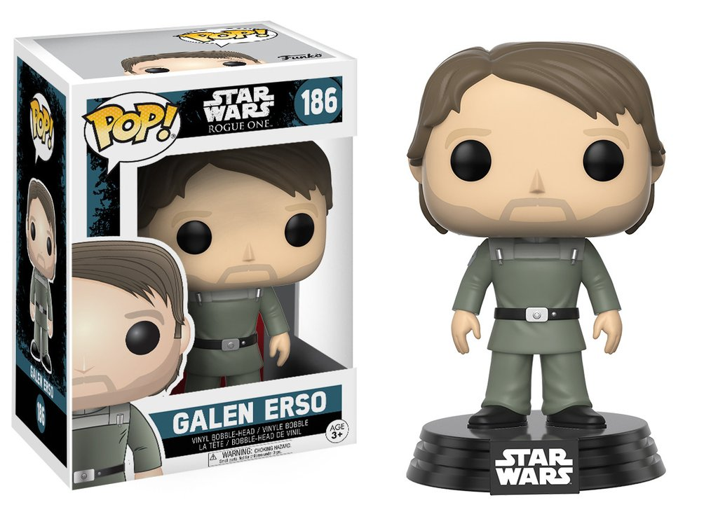 Photo du produit STAR WARS ROGUE ONE POP! VINYL BOBBLE HEAD GALEN ERSO