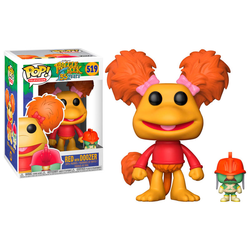 Photo du produit FRAGGLE ROCK FIGURINE POP! TELEVISION VINYL RED & DOOZER 9 CM