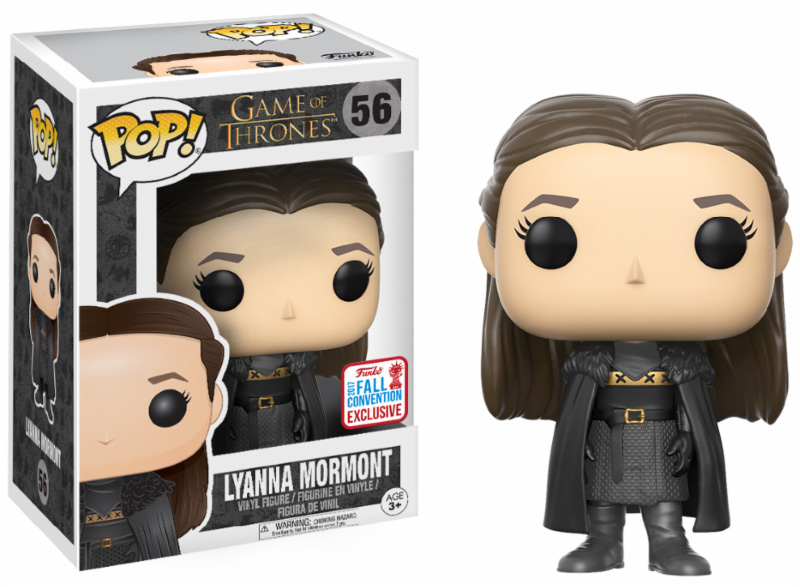 Photo du produit FUNKO POP GAME OF THRONES LYANNA MORMONT NYCC 2017 EXCLUSIVE