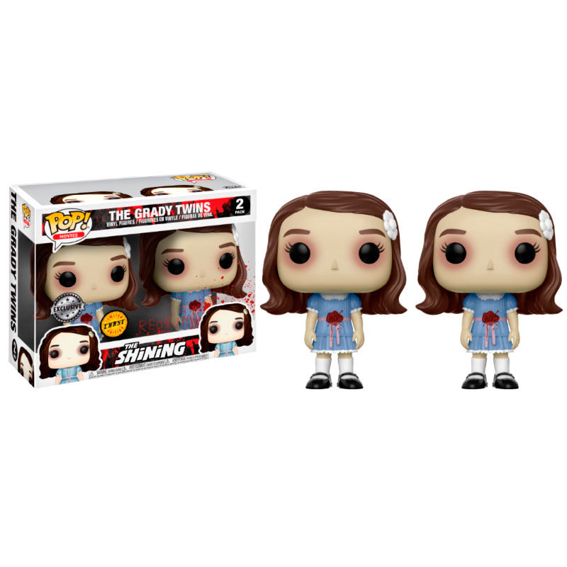 Photo du produit FIGURINES POP THE SHINING THE GRADY TWINS  VERSION EXCLUSIVE CHASE