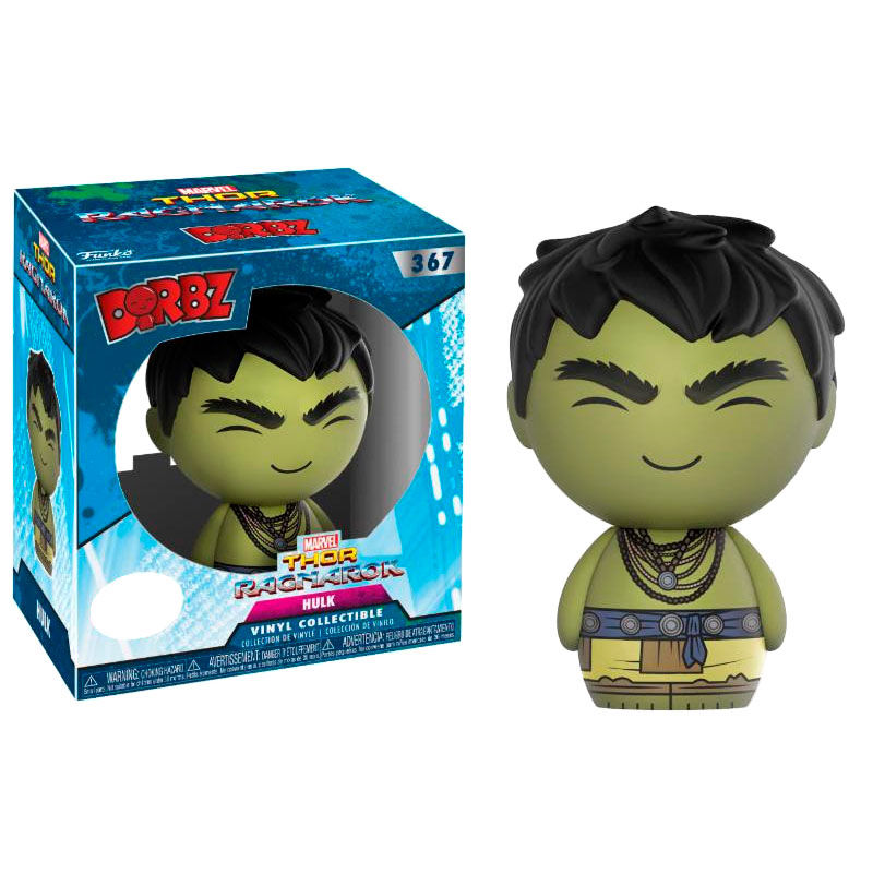Photo du produit FIGURINE FUNKO DORBZ MARVEL THOR RAGNAROK CASUAL HULK EXCLUSIVE