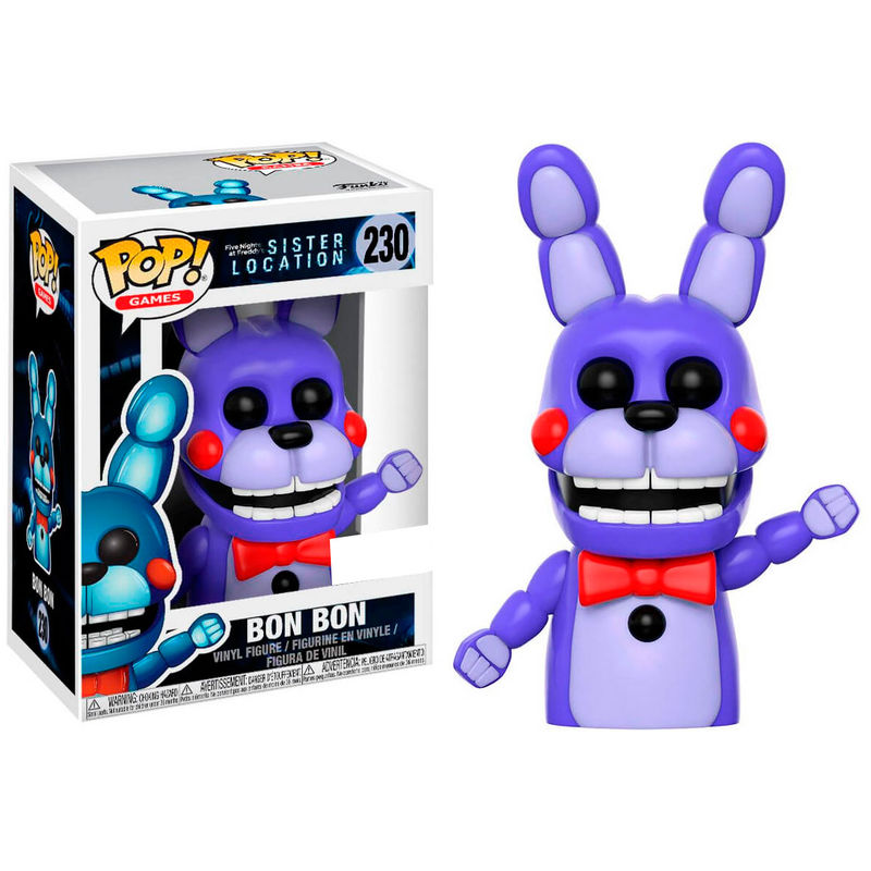 Photo du produit FIGURINE FUNKO POP FIVE NIGHTS AT FREDDY'S SISTER LOCATION BON BON EXCLUSIVE