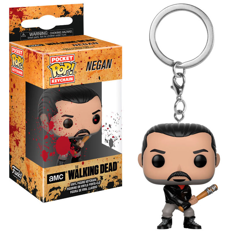 Photo du produit PORTE CLE POCKET POP THE WALKING DEAD NEGAN