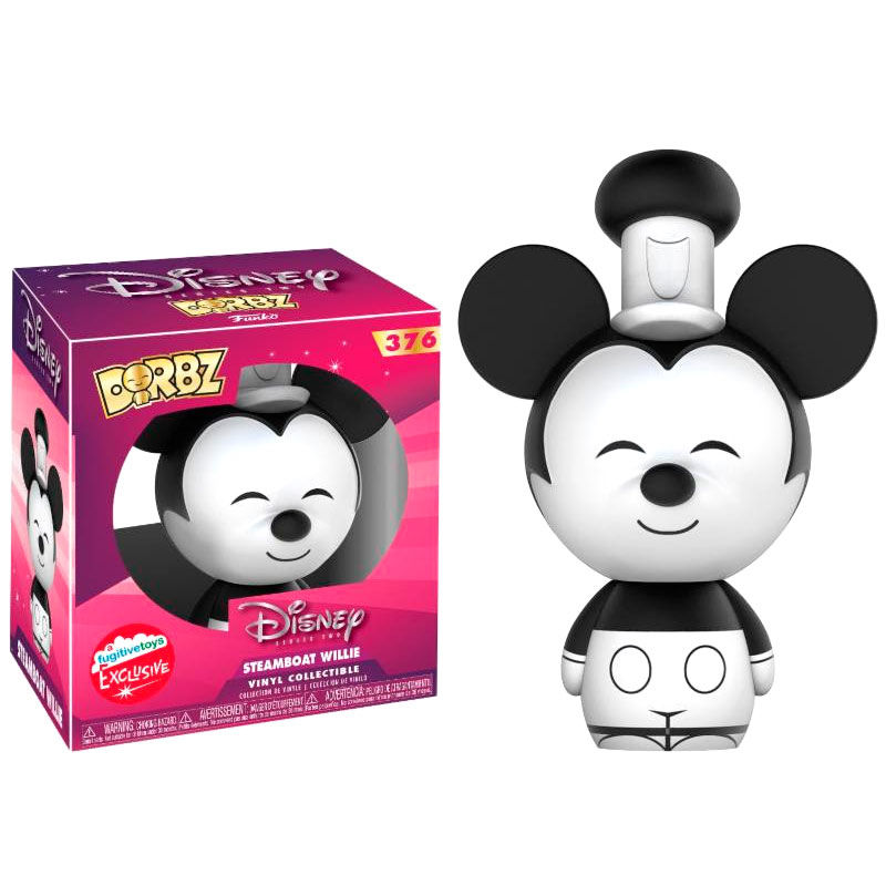 Photo du produit FIGURINE FUNKO DORBZ DISNEY STEAMBOAT WILLIE EXCLUSIVE
