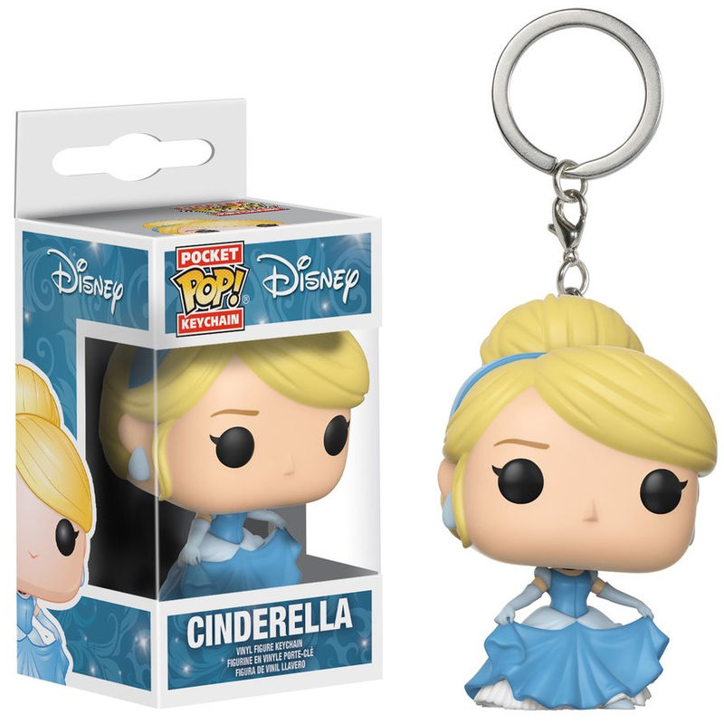 Photo du produit PORTE CLE POCKET POP! DISNEY PRINCESSE CENDRILLON