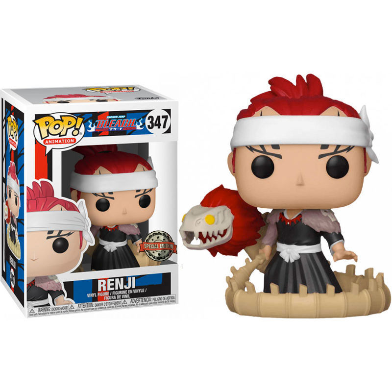 Photo du produit FUNKO POP RENJI WITH BANKAI SWORD BLEACH EXCLUSIVE