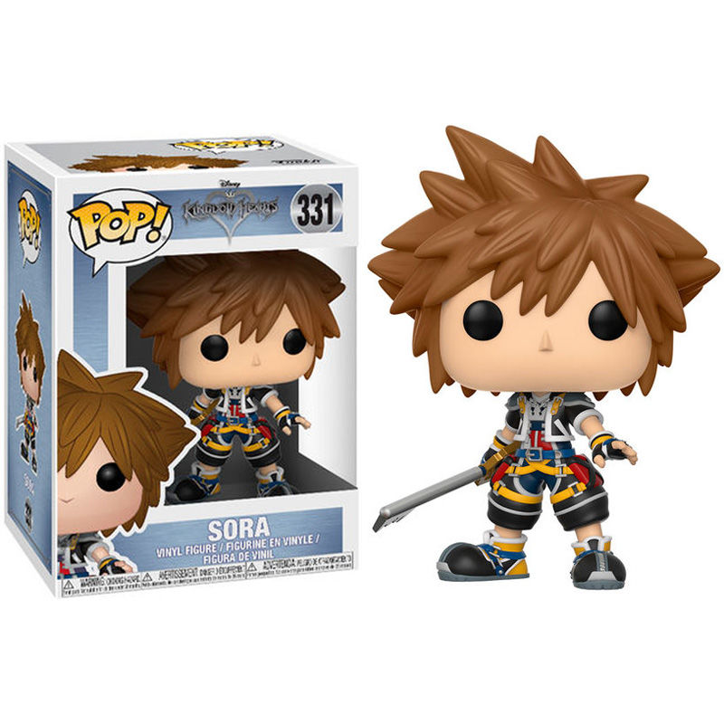 Photo du produit FUNKO POP DISNEY KINGDOM HEARTS SORA KEYBLADE