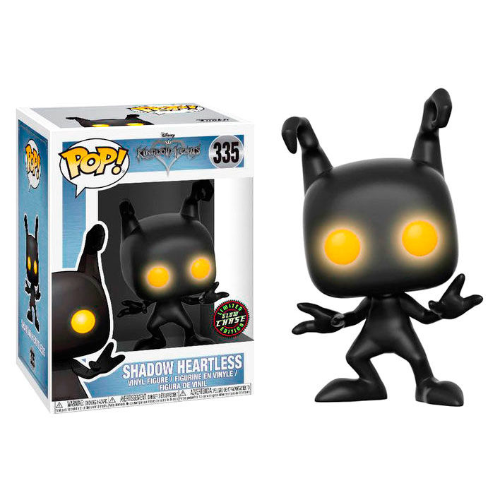 Photo du produit FUNKO POP DISNEY KINGDOM HEARTS SHADOW HEARTLESS CHASE EXCLUSIVE