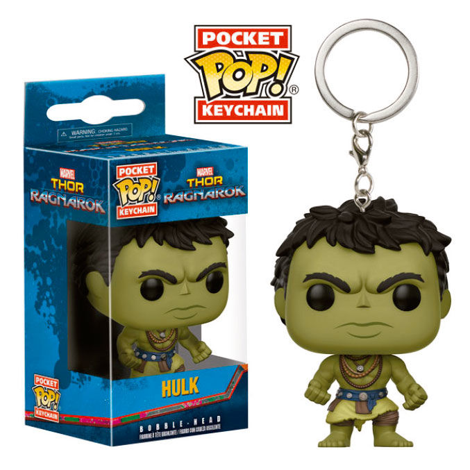 Photo du produit PORTE CLE POCKET POP MARVEL THOR RAGNAROK HULK