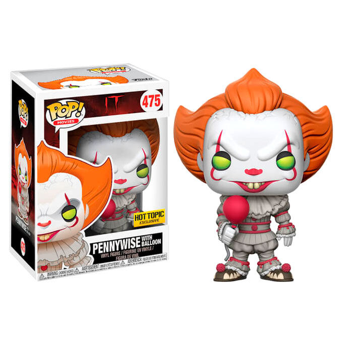 Photo du produit FIGURINE FUNKO POP POP IT 2017 PENNYWISE WITH BALLOON EXCLUSIVE