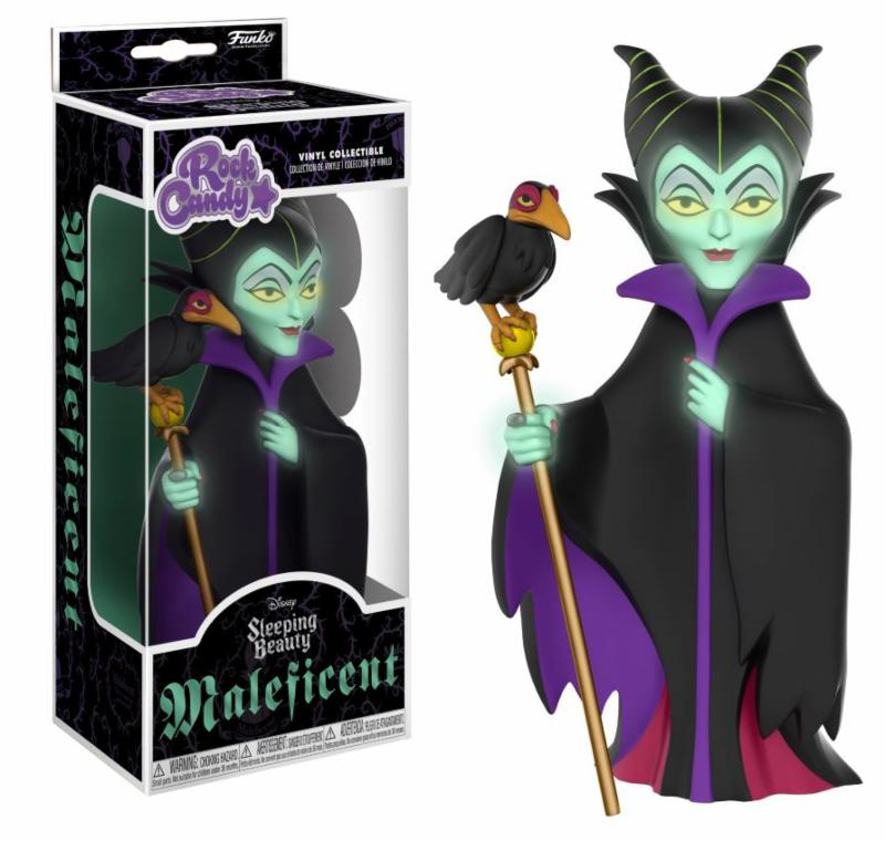 Photo du produit DISNEY ROCK CANDY FIGURINE MALEFICENT GLOW IN THE DARK