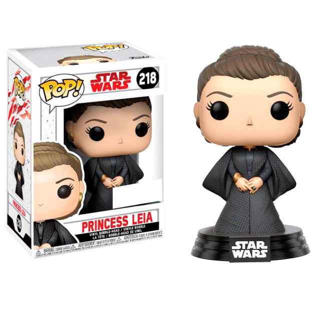 Photo du produit FIGURINE FUNKO STAR WARS THE LAST JEDI PRINCESS LEIA EXCLUSIVE