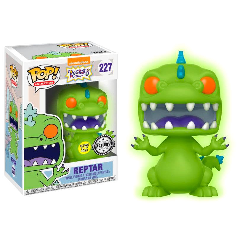 Photo du produit FUNKO POP RUGRATS REPTAR GLOW IN THE DARK EXCLUSIVE