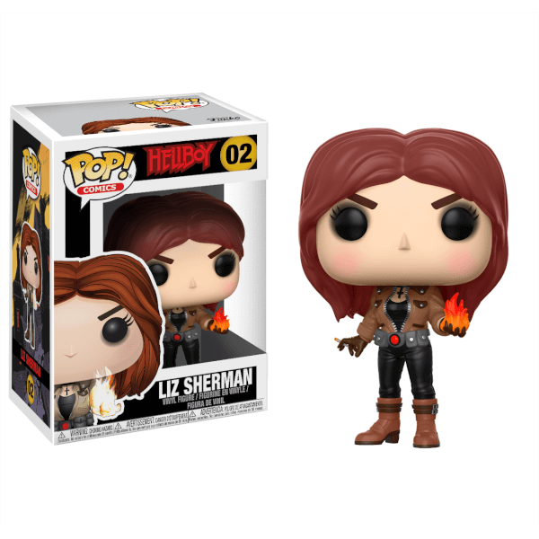 Photo du produit HELLBOY FIGURINE FUNKO POP LIZ SHERMAN