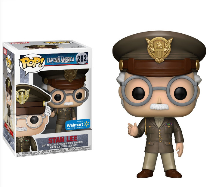 Photo du produit FUNKO POP STAN LEE STAN CAMEO ARMY GENERAL